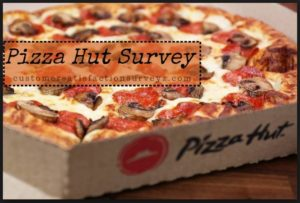 Pizza Hut Survey WIN $1,000 Cash and Coupon