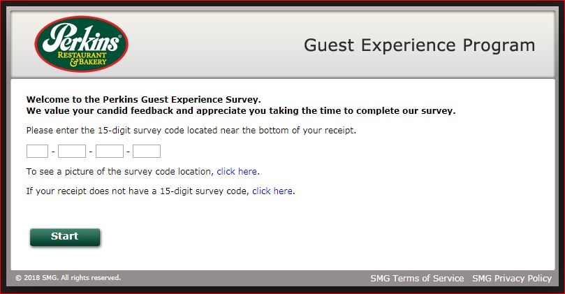 perkins experience survey#