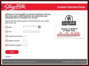 ShopRite Survey