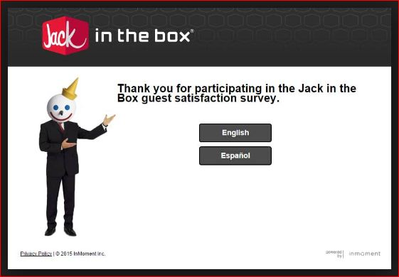 Jack in the Box Customer Survey @