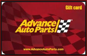 advance auto parts survey gift card