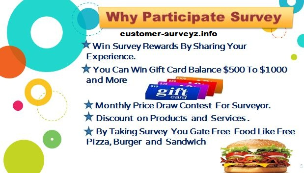 Why Participate Customer Satisfaction Survey and Guest Feedback