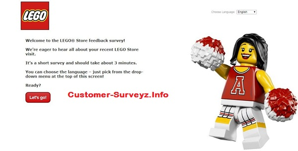 Lego survey at Lego.com/storesurvey | How to participate