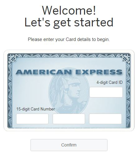 Americanexpress/Confirmcard