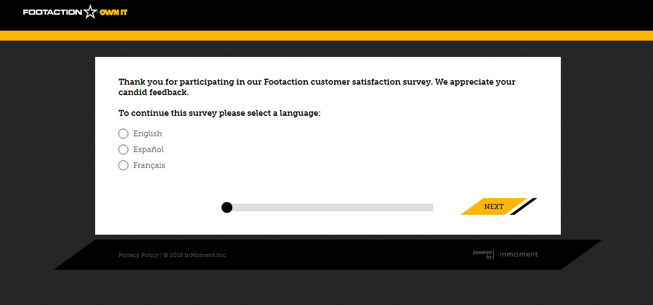 Footaction Survey