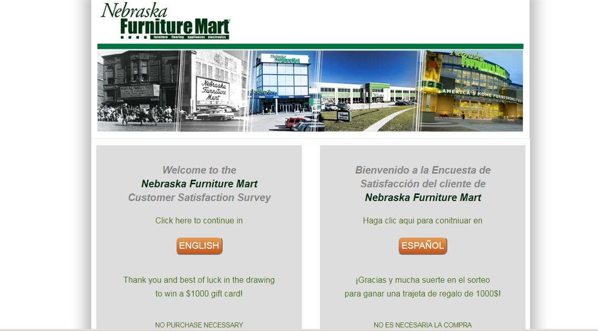 Nebraska Furniture Mart Client Survey