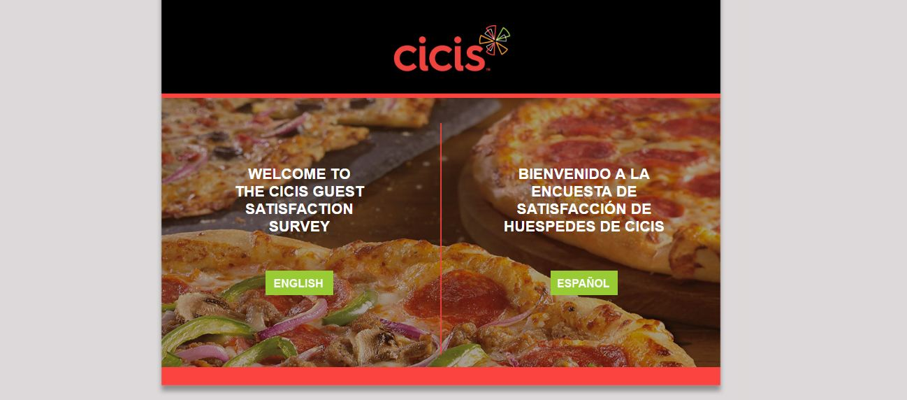 CiCis Pizza Coupon Survey