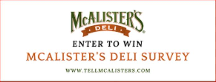 McAlister's Deli Survey Just Laptop And Desktop
