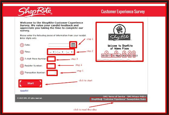 Welcome To ShopRite Customer Experience Survey