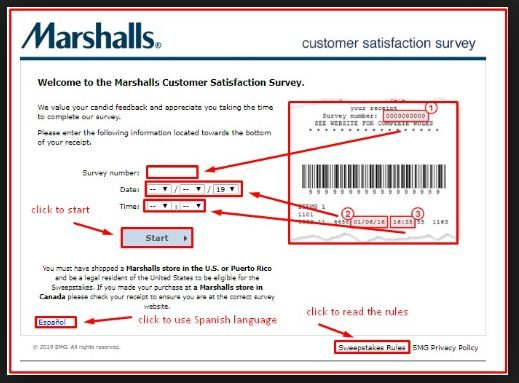 marshalls customer $500 gift card