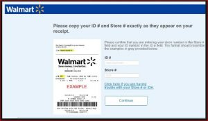 Walmart Survey @www.entry.survey.walmart.com