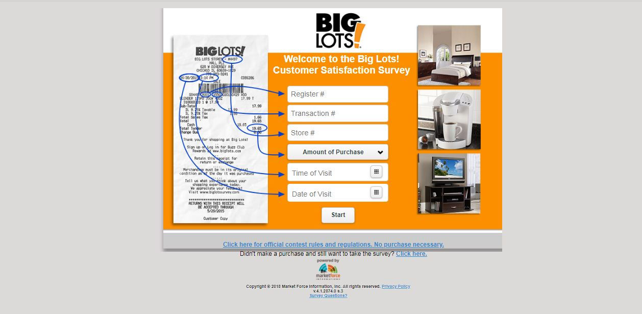 Big Lots Survey