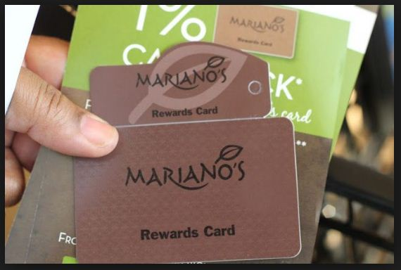 Mariano's Reward Card for easy savings and cash back