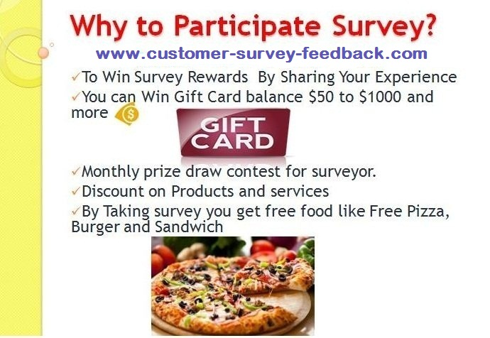 Why Participate Customer Satisfaction Survey